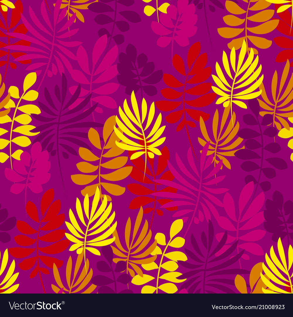 Abstract safari style flower seamless pattern