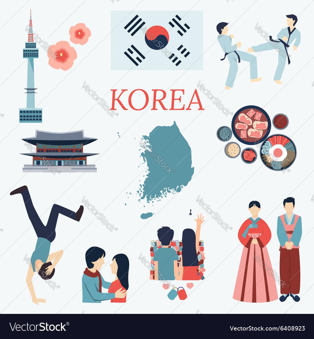 Korea design elements