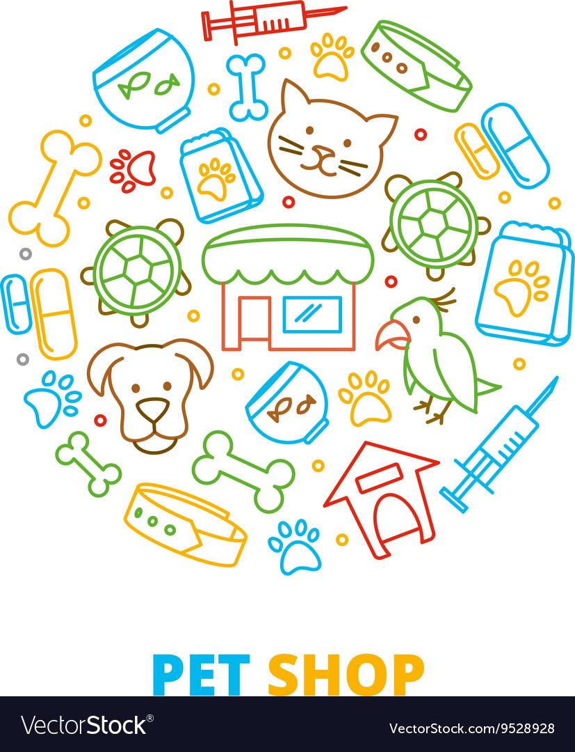 Pet shops veterinary clinics and homeless animals