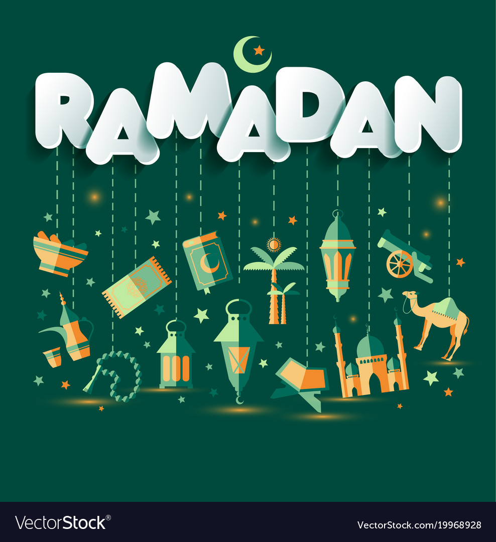 Ramadan kareem greting of ramadan