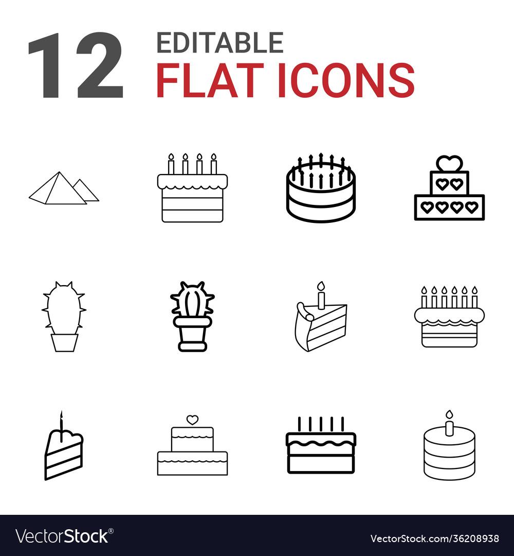 12 desert icons