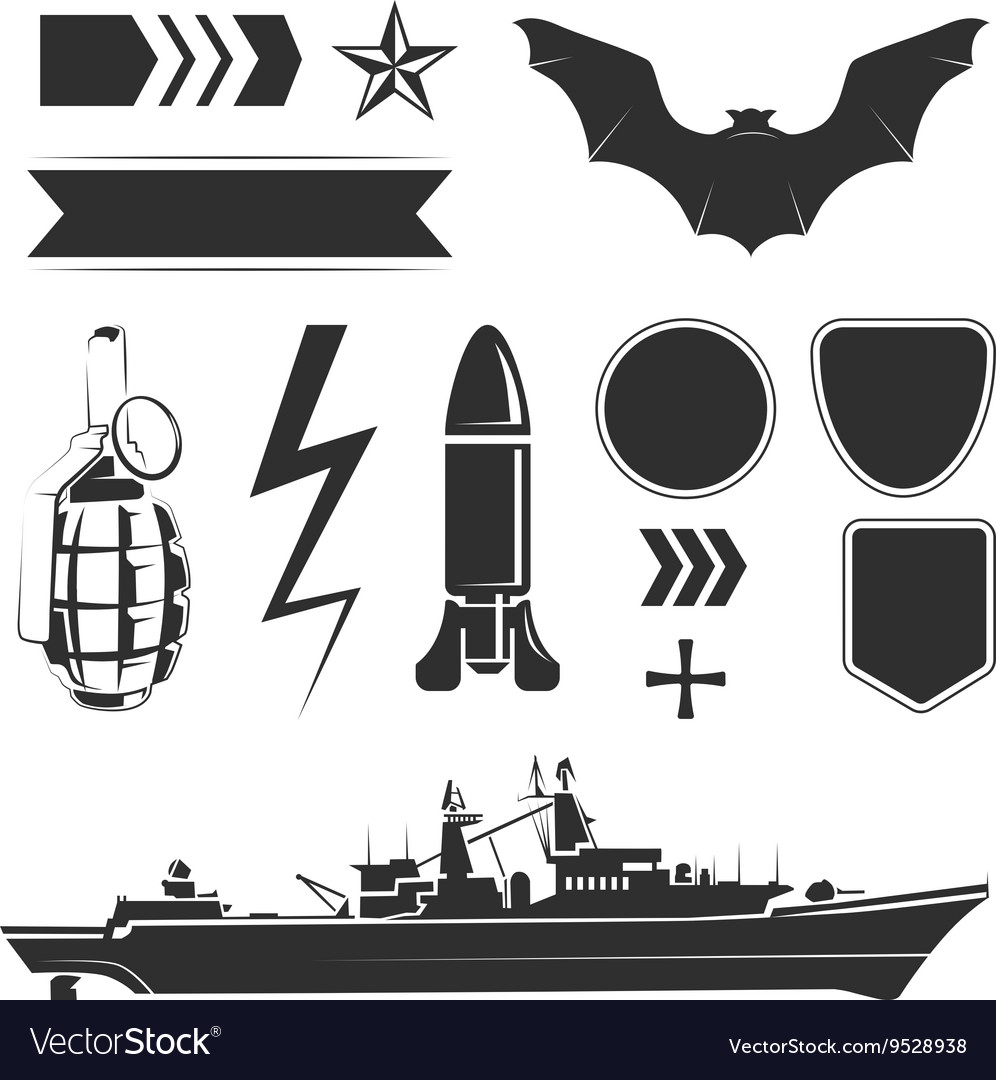 Elements for army airforce and navy