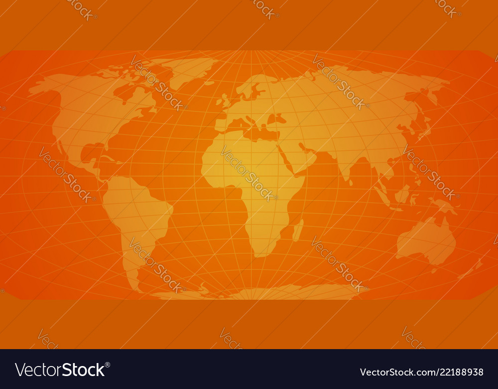 Map of the world background abstract new