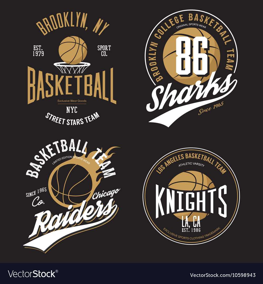 T Shirt Design Basketball Fans For Usa New York Vector Image