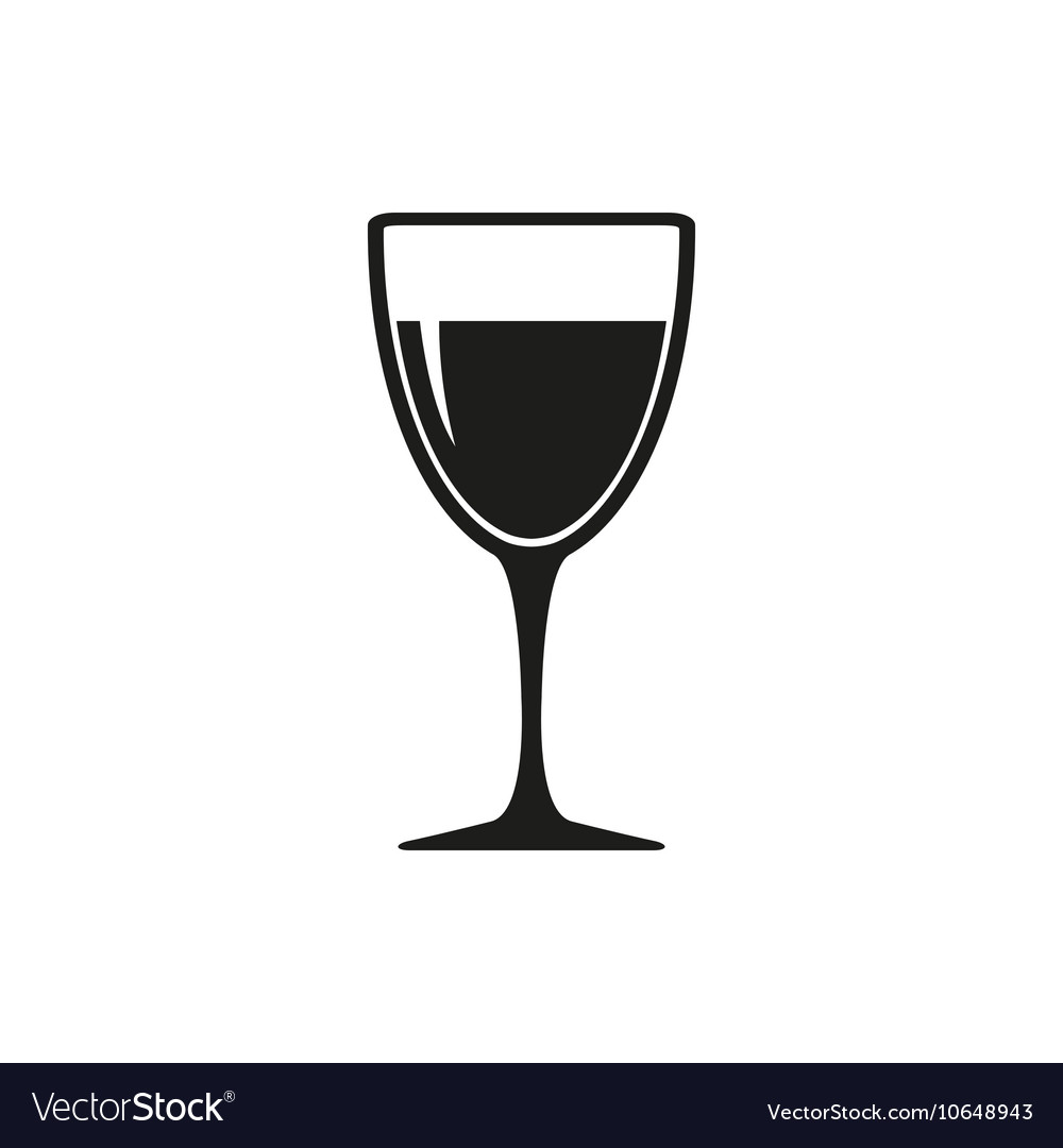 wineglass with white or red wine royalty free vector image rh vectorstock com wine vector art wine vector png