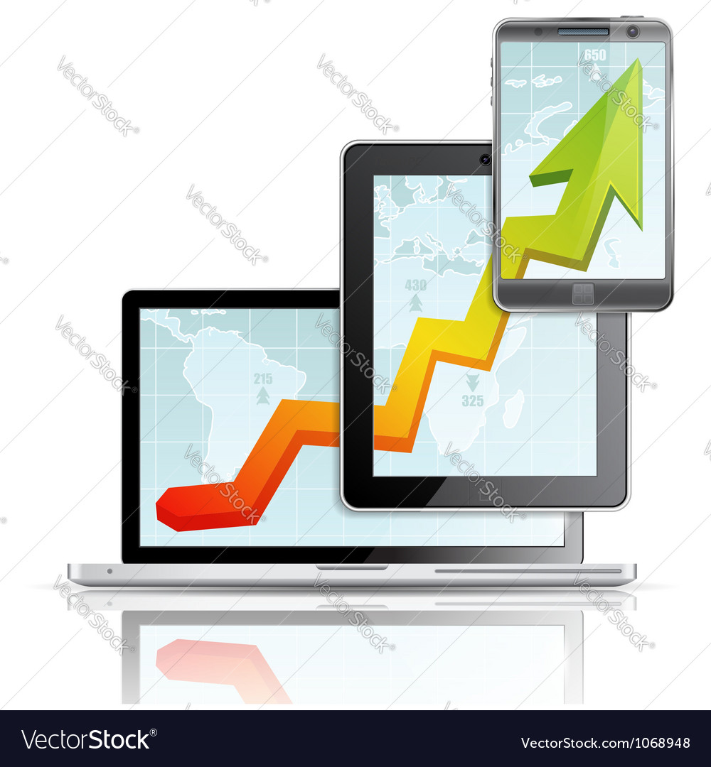 Modern Business Concept vector image