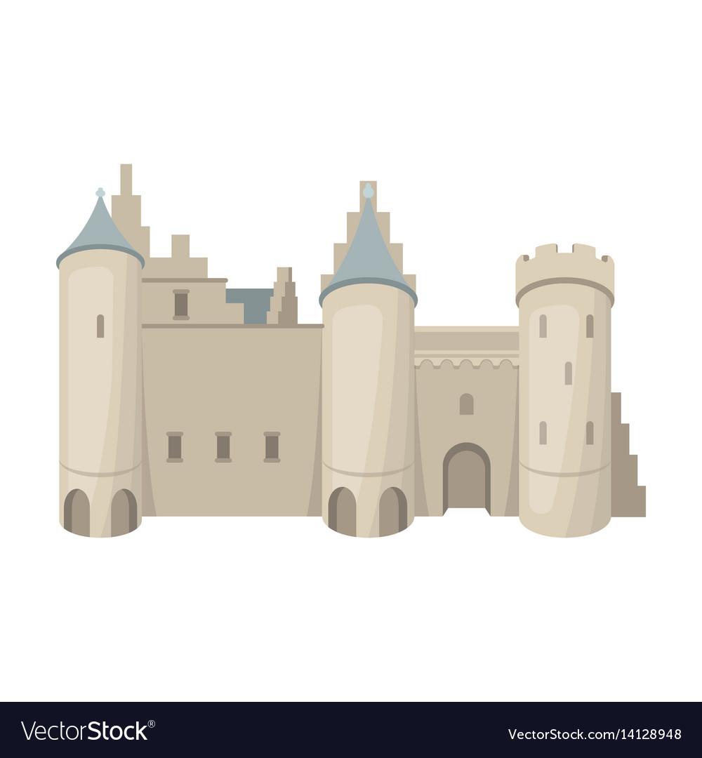 Protective castle of belgiumthe dark belgian wolf