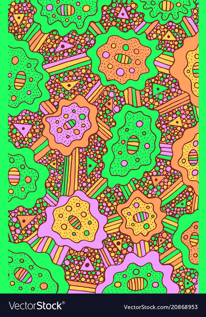 Background psychedelic surreal with