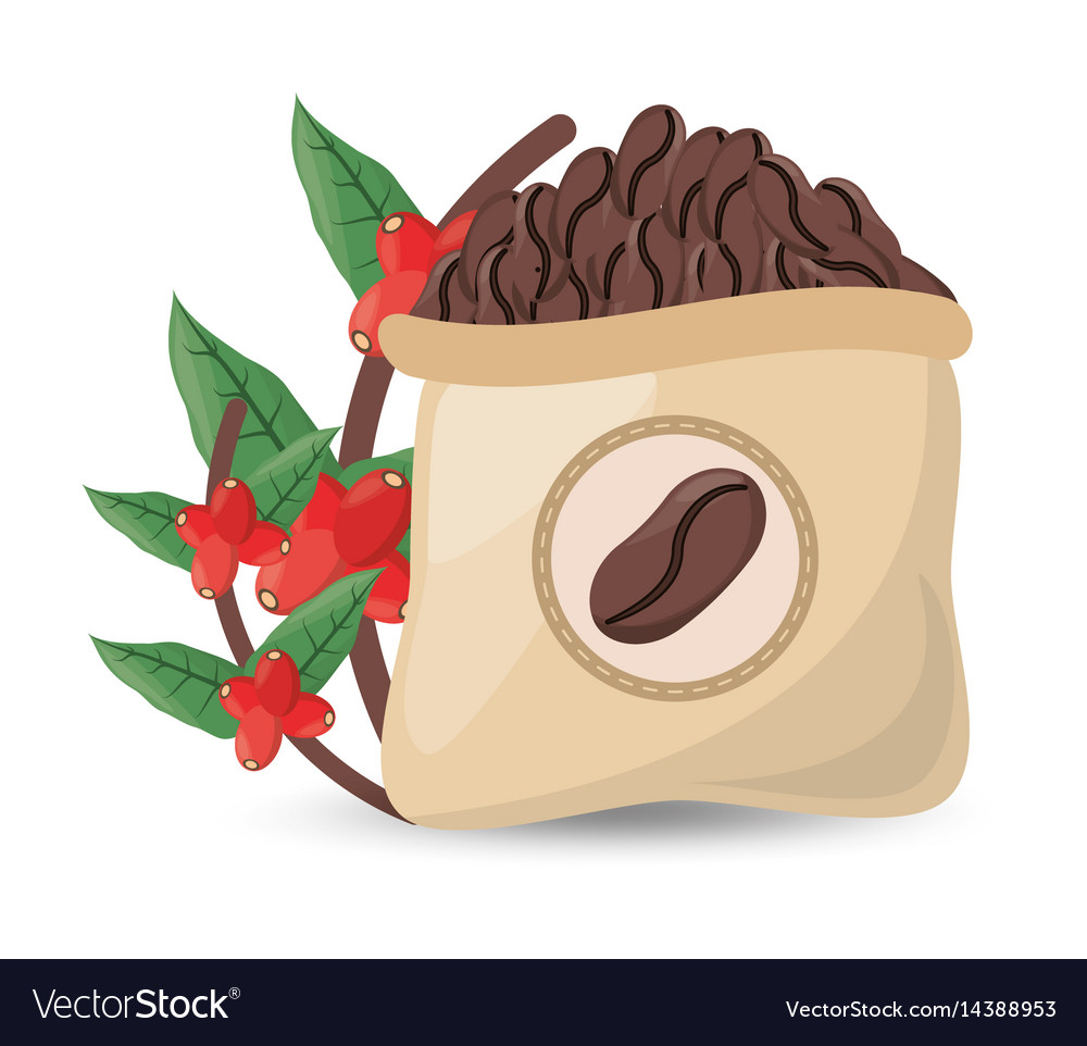 Coffee roasted sac tree design