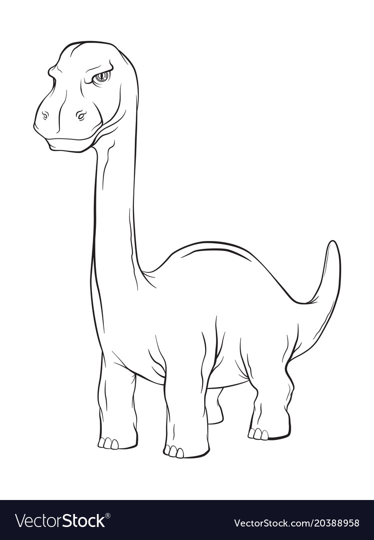 Apatosaurus dinosaur long neck creature monster