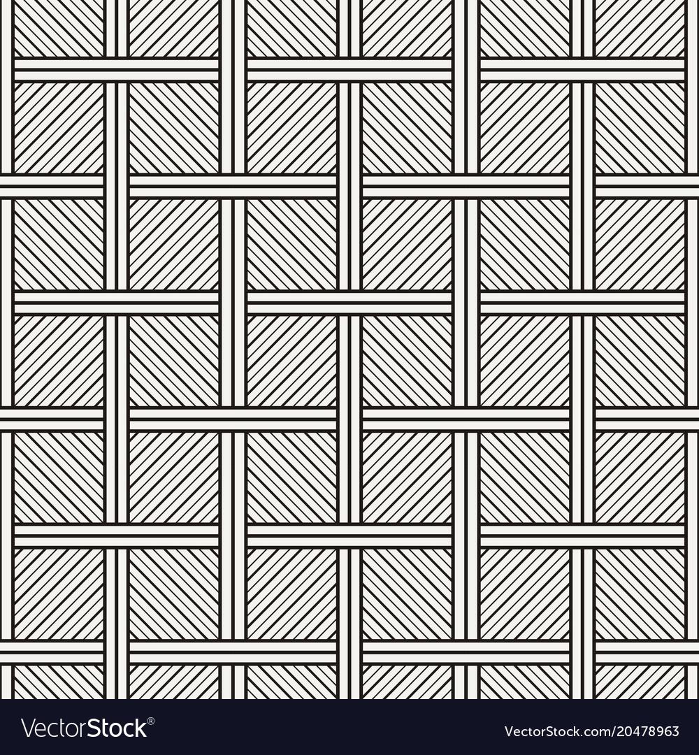 Abstract seamless stripe geometric pattern
