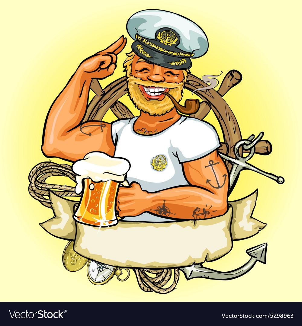 Прикольные открытки с моряком