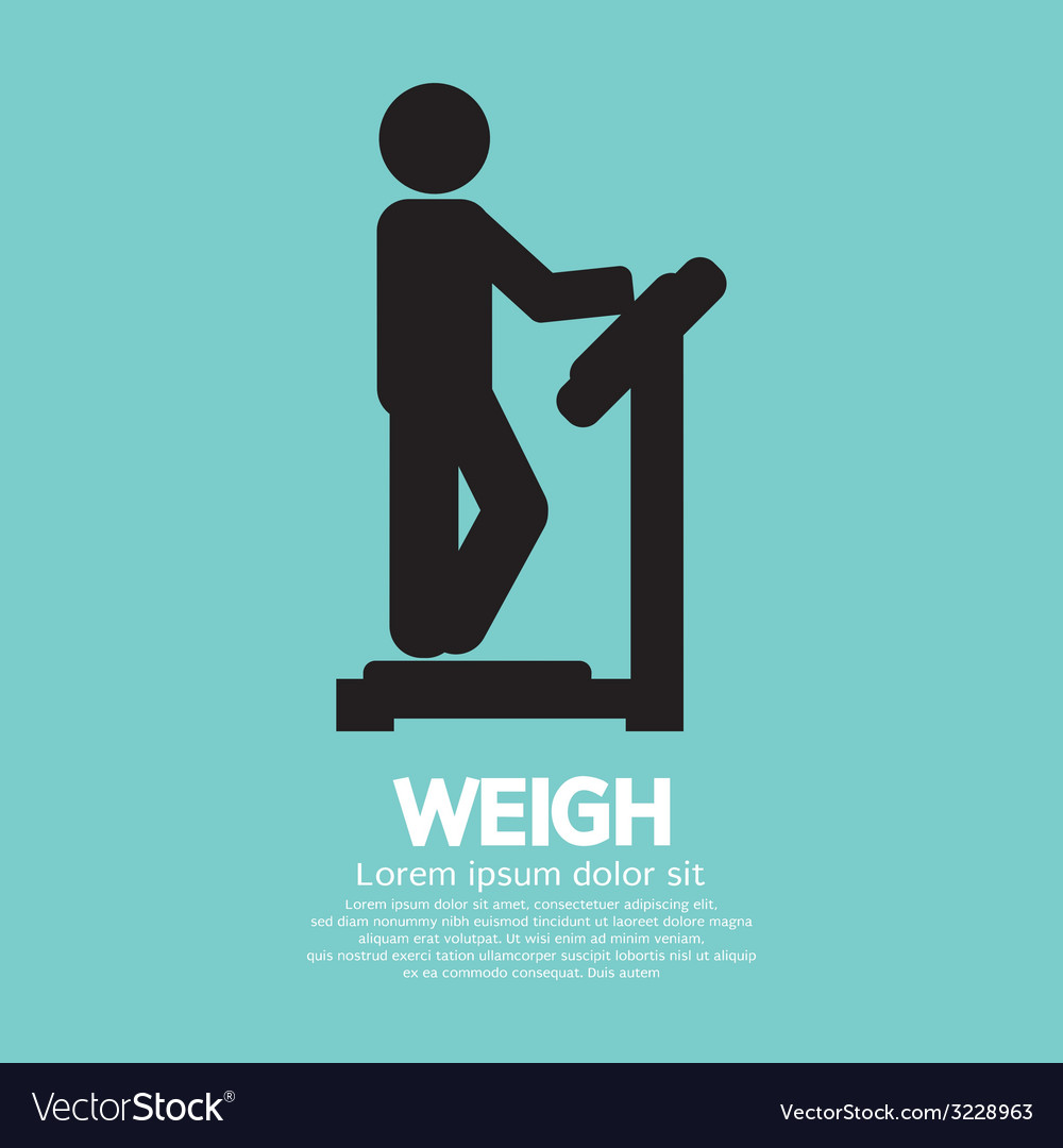 Weigh Graphic Symbol
