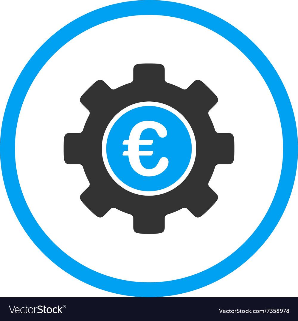 Euro Development Rounded Icon