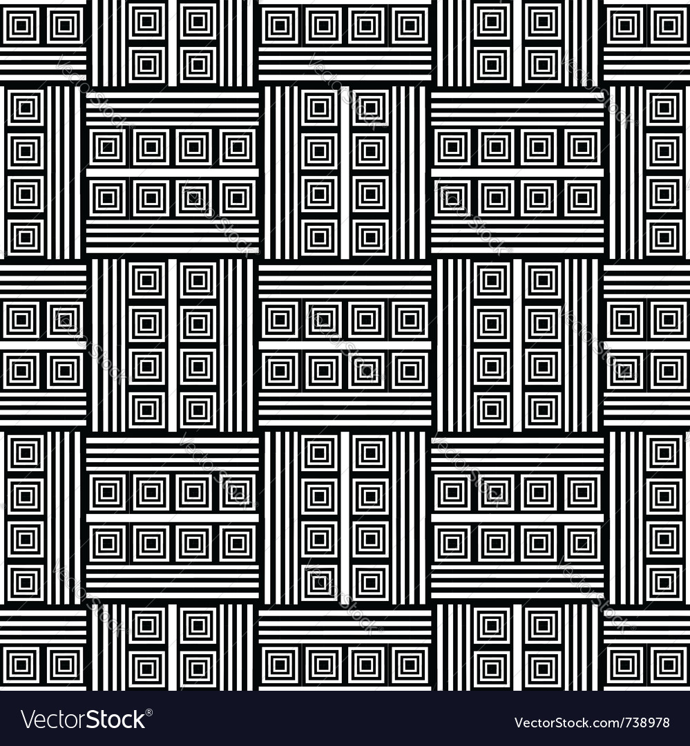 Seamless op art pattern
