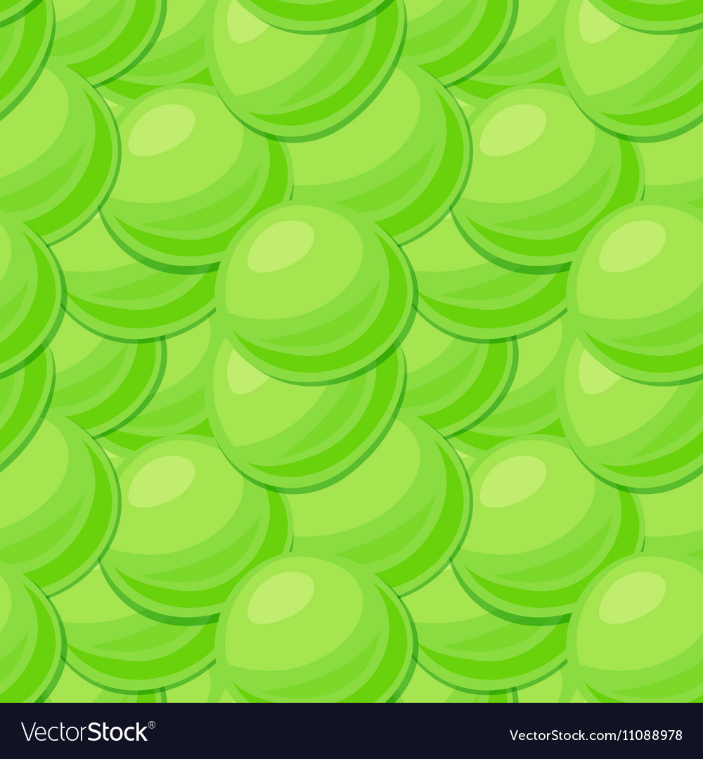 Seamless pattern with pea seeds