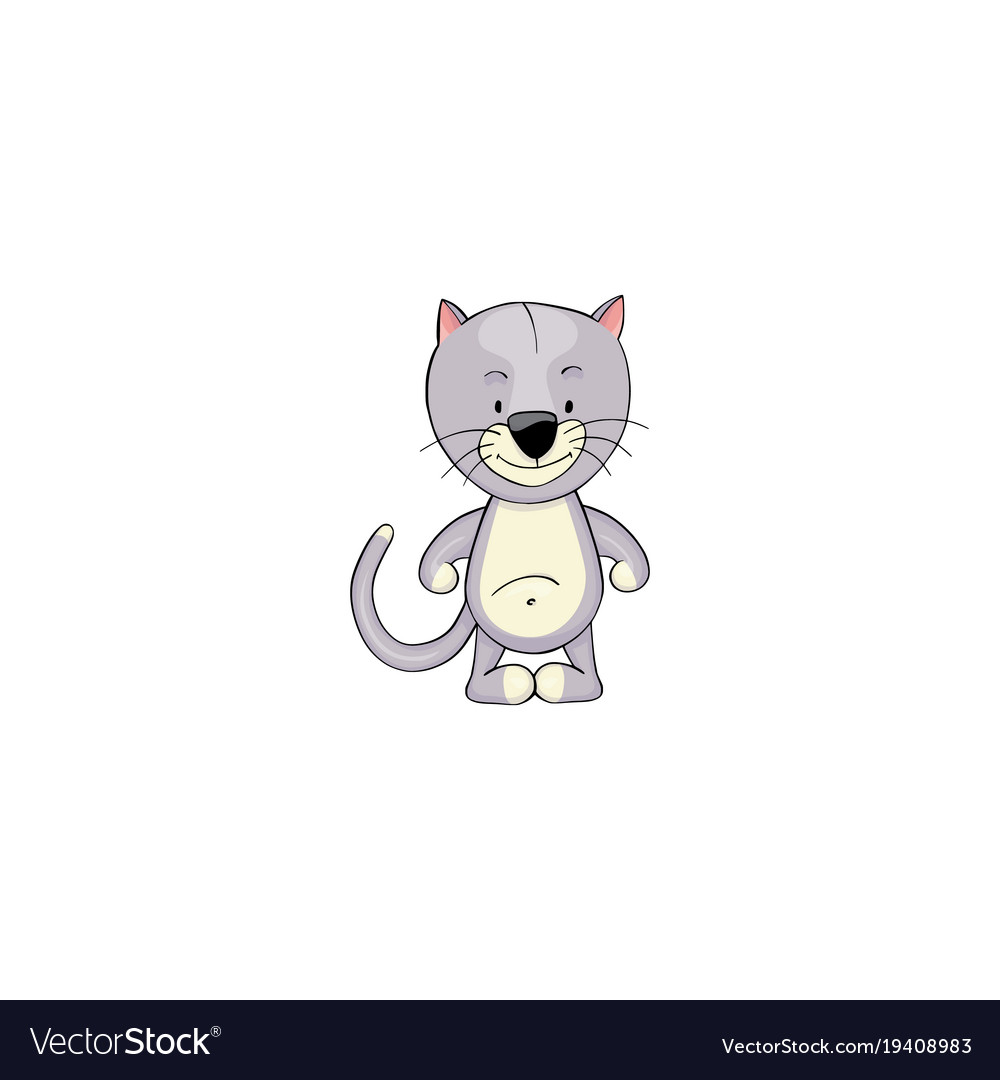 Cat cartoon icon