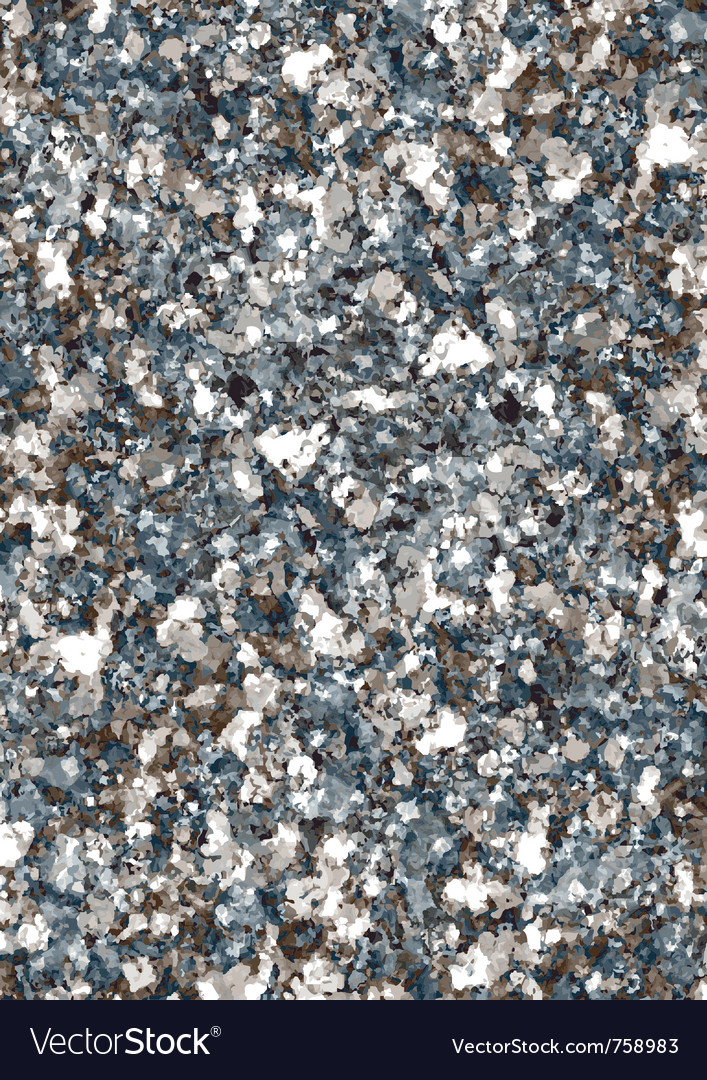 Granite vector image