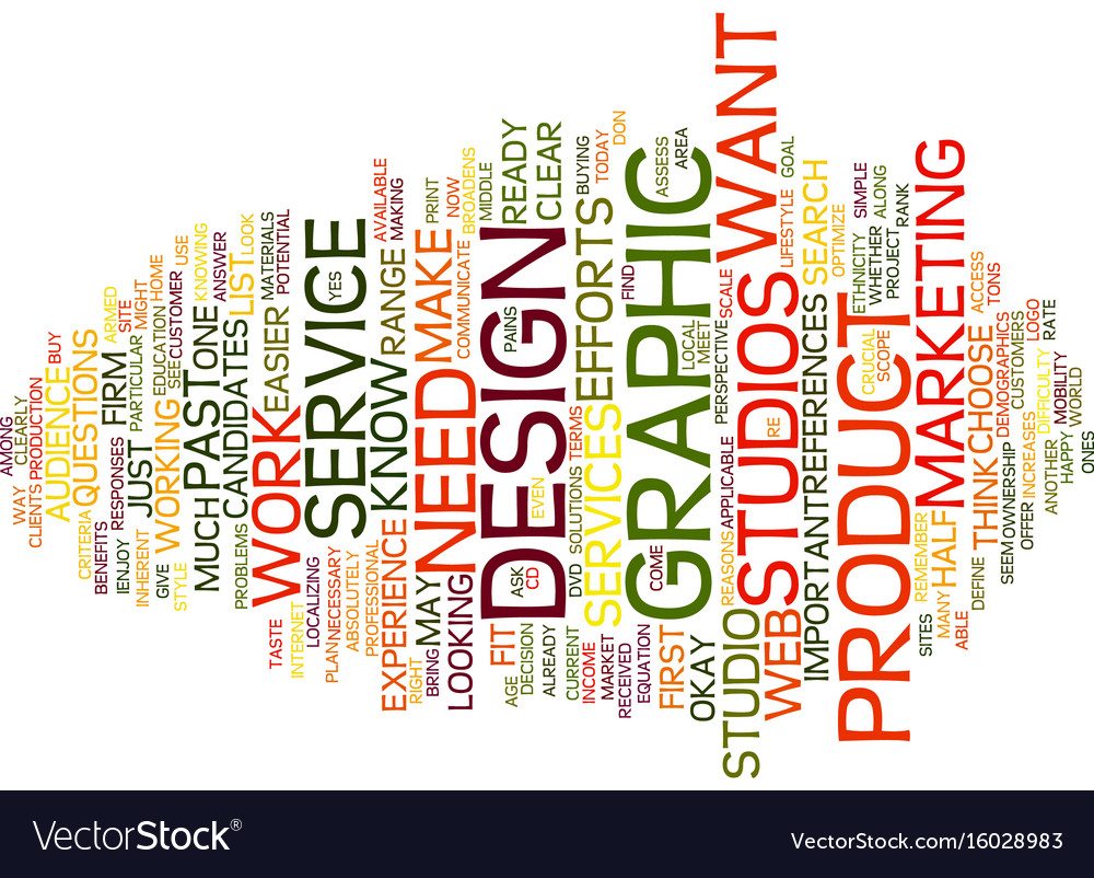 Graphic design studios text background word cloud