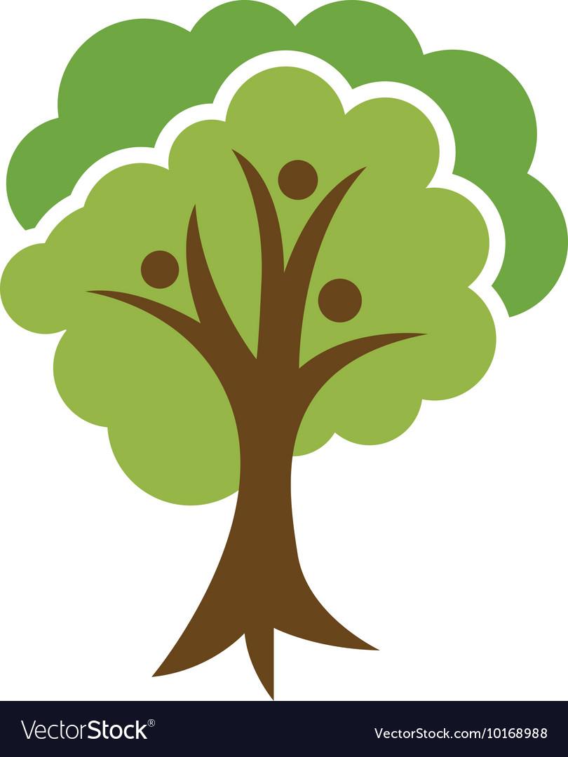 Family Tree Logo Royalty Free Vector Image Vectorstock