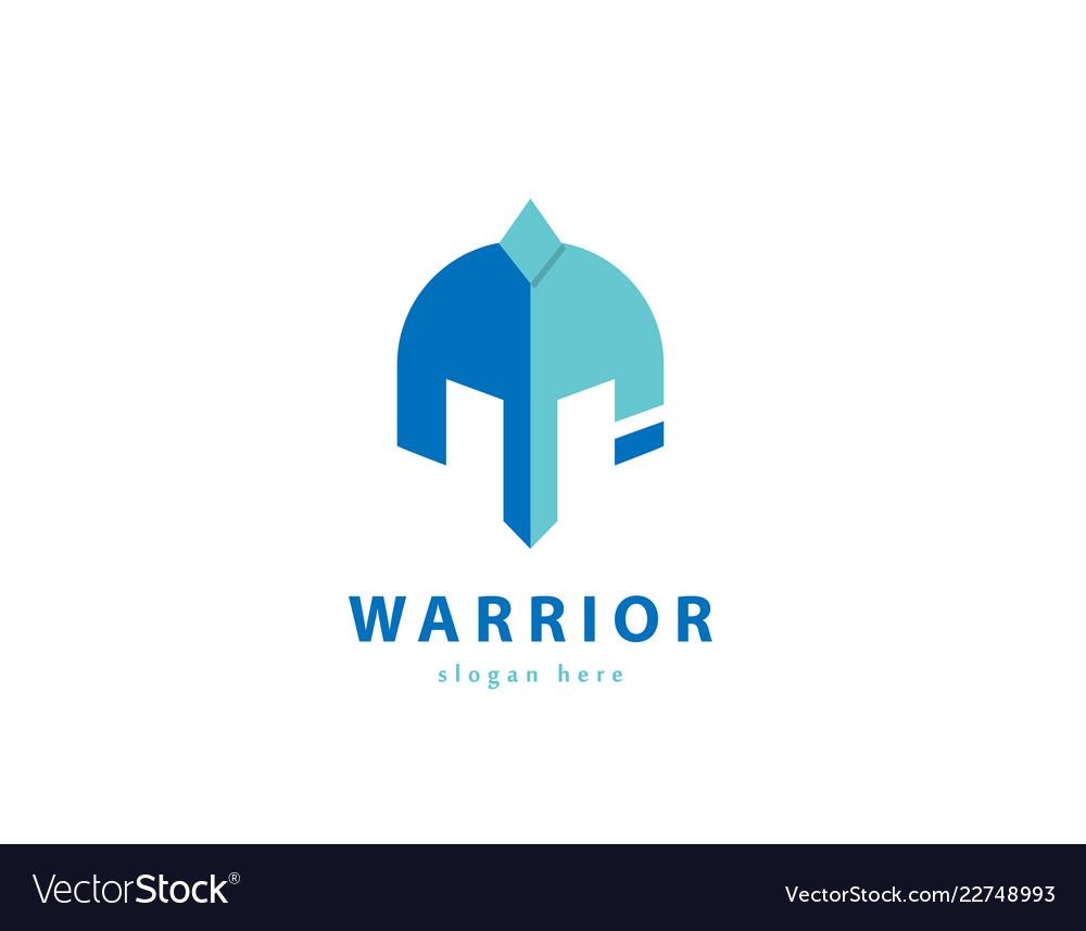 Defender logo spartan logo warrior logo