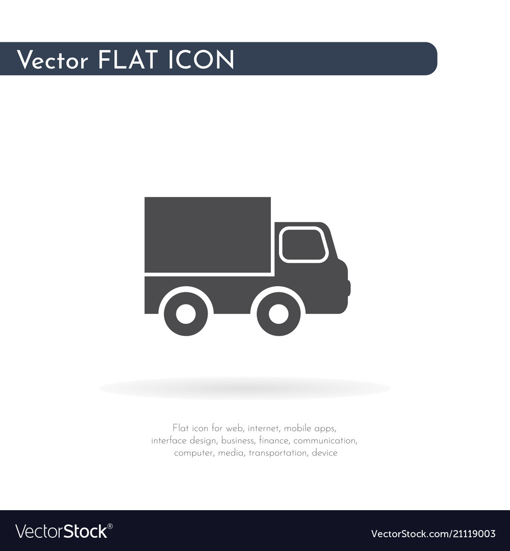 Car icon for web business finance and