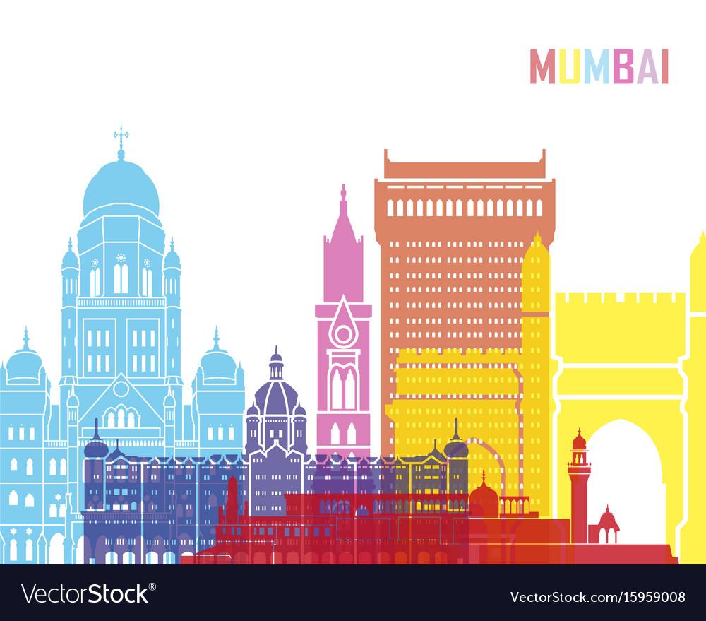 Mumbai skyline pop
