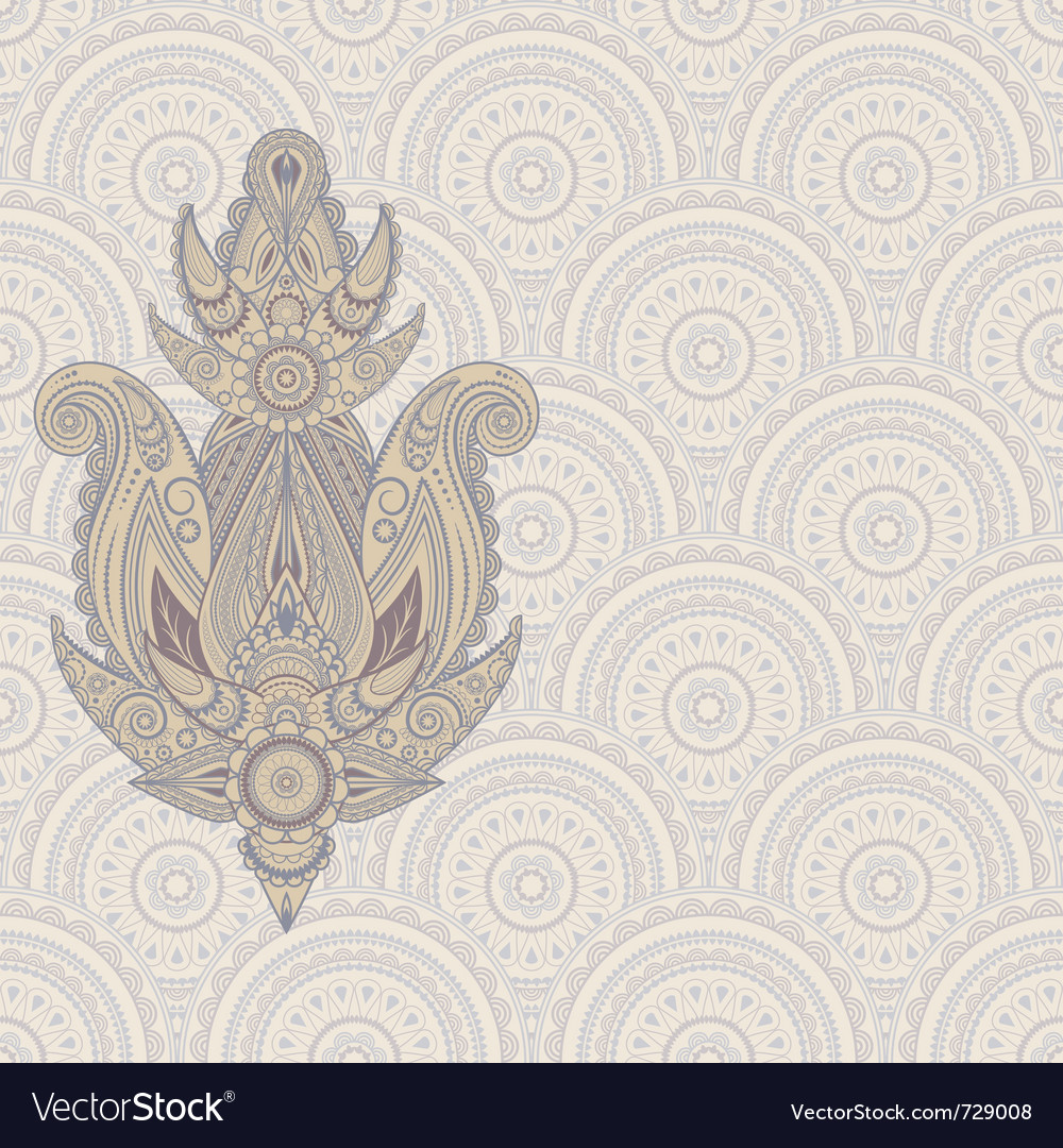 Paisley design element