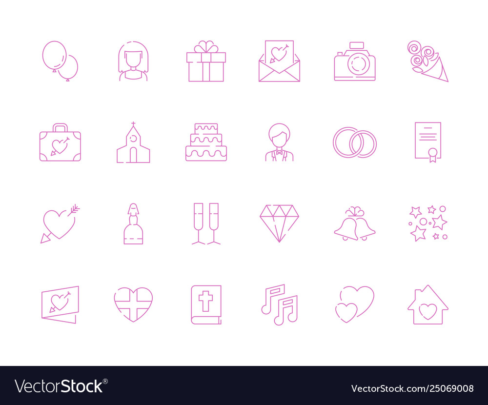 Wedding symbols love couple cakes photography