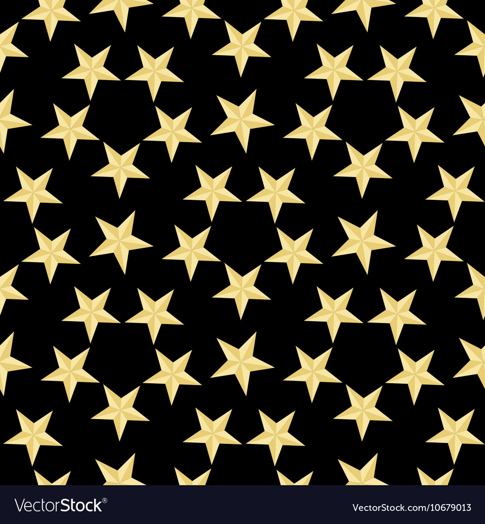 Gold and Black stars background exclusive photo