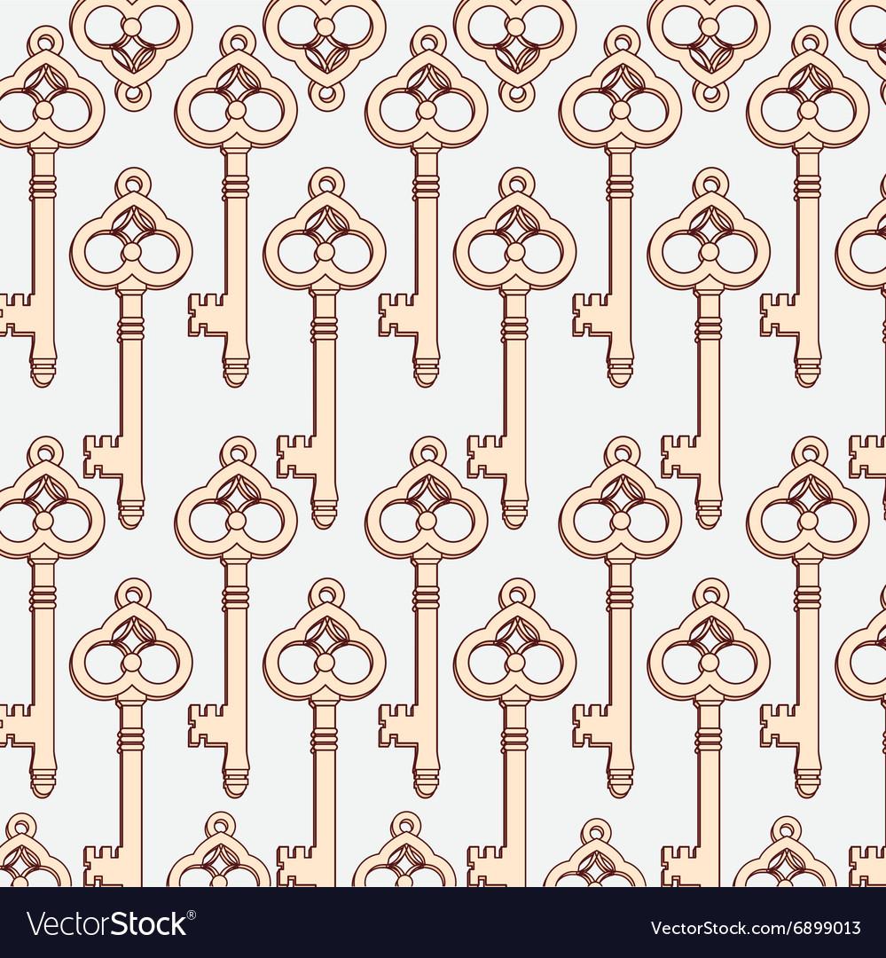 Retro vintage background or wallpaper vector image