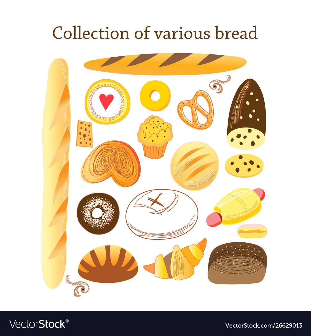 Set different bread