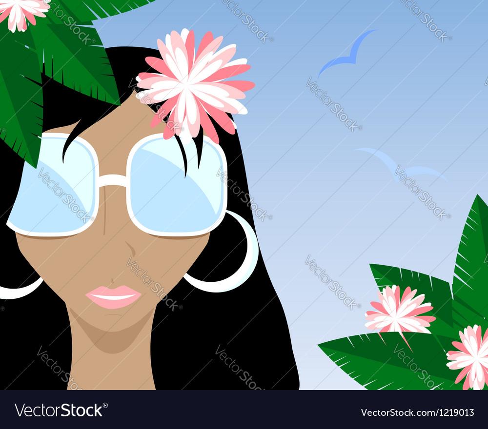 Summer girl black