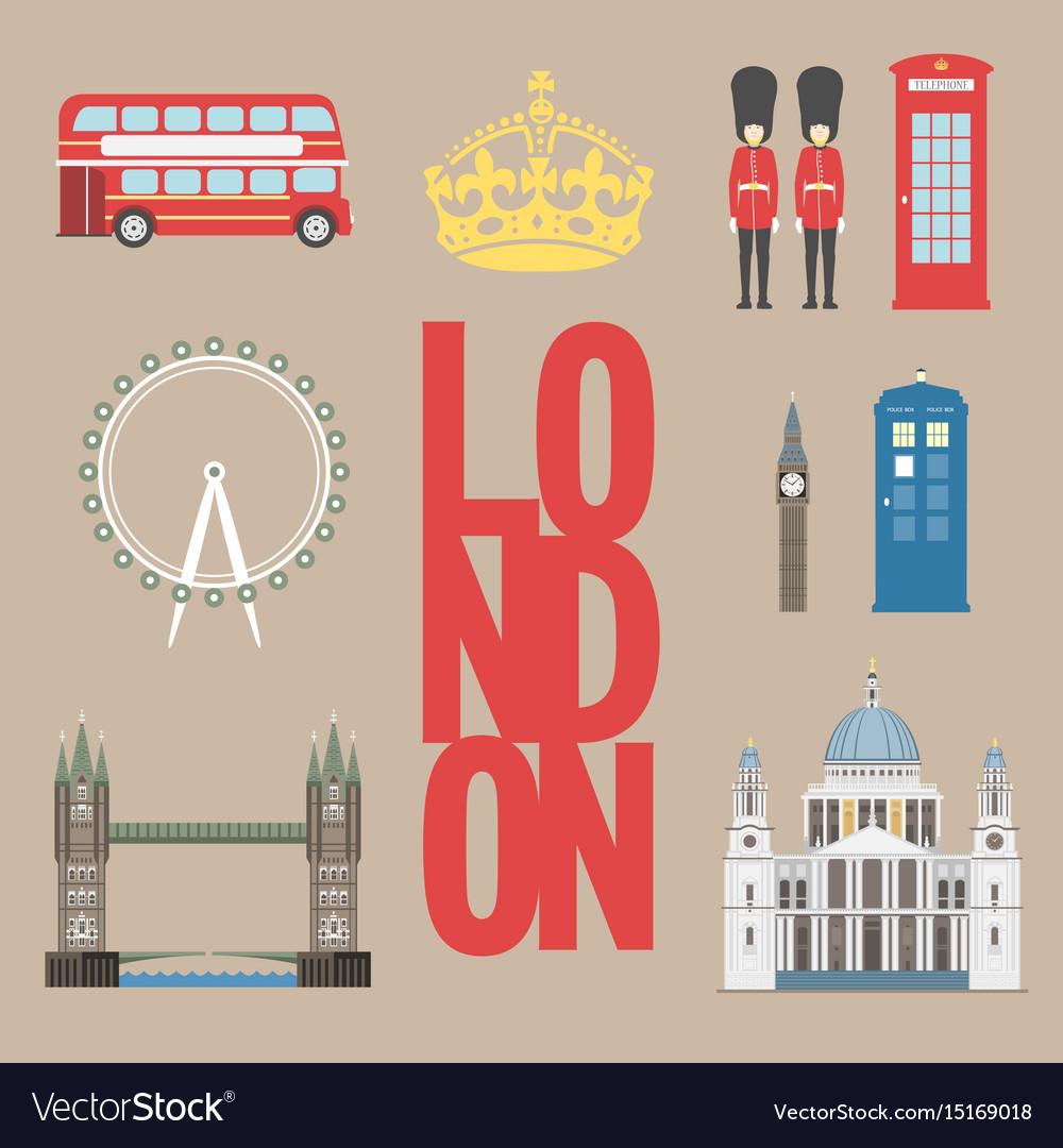 London travel info graphic