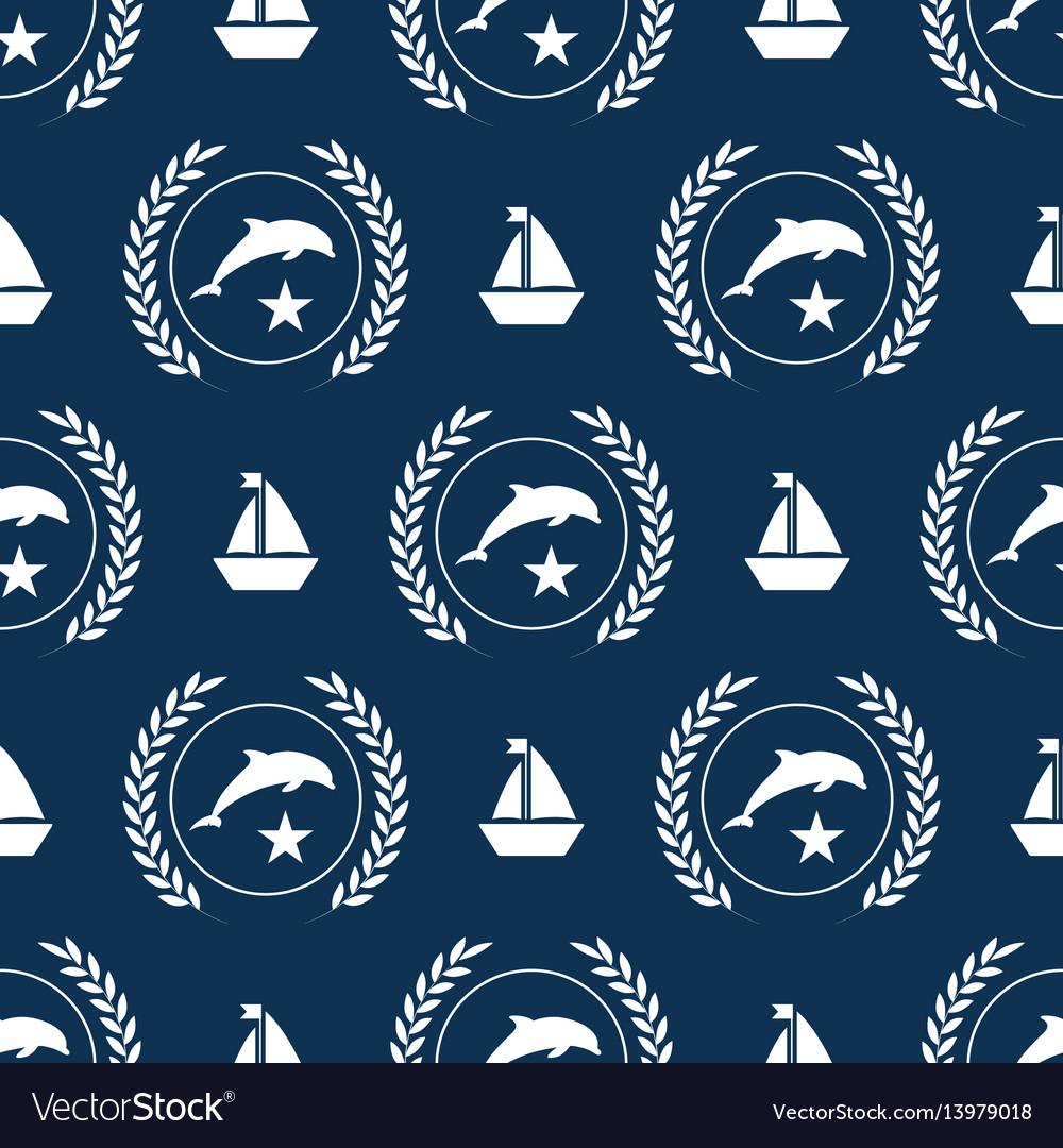 Nautical spirit pattern
