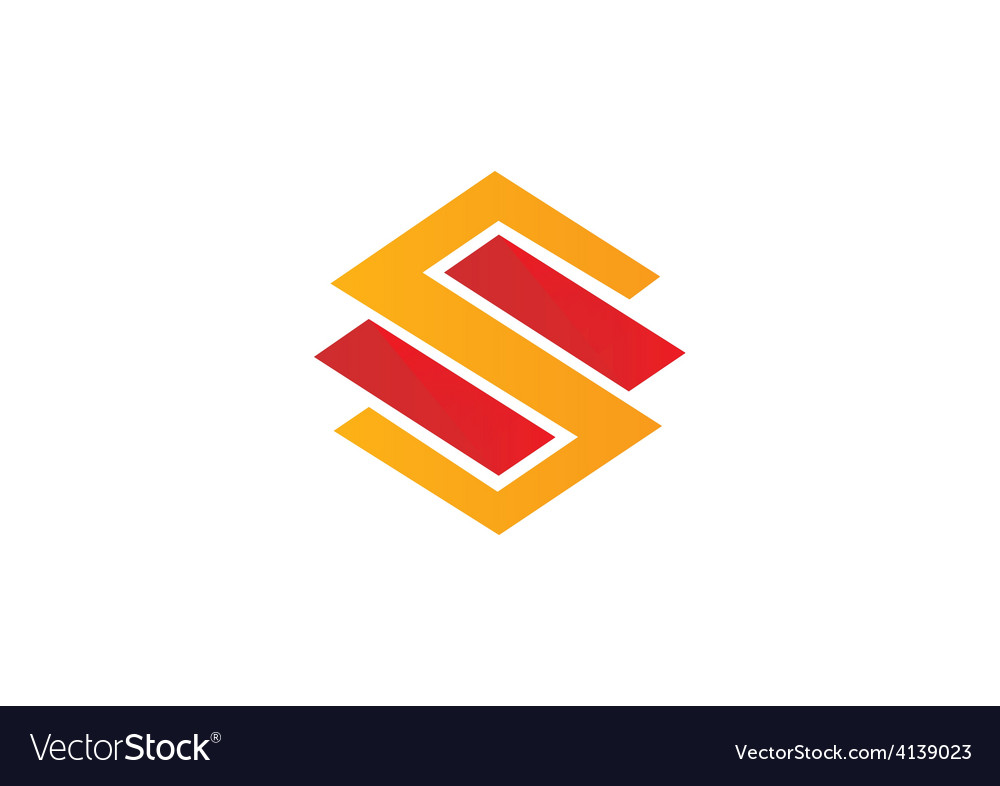 S letter logo building construction logo
