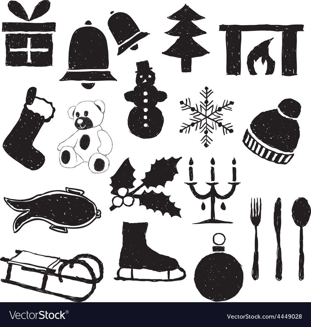 Doodle christmas images