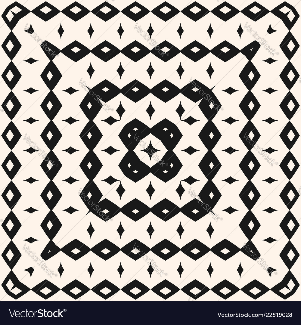 Ethnic tribal geometric seamless pattern with