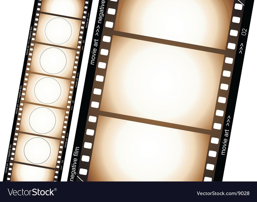 Old film strip