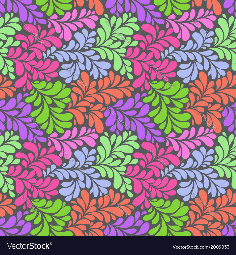 Olorful abstract seamless pattern