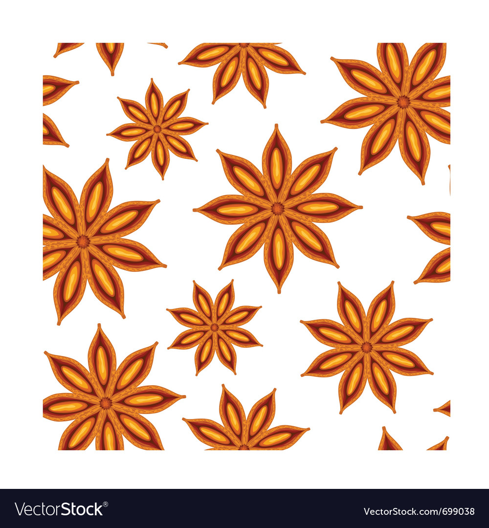 Anise seamless background