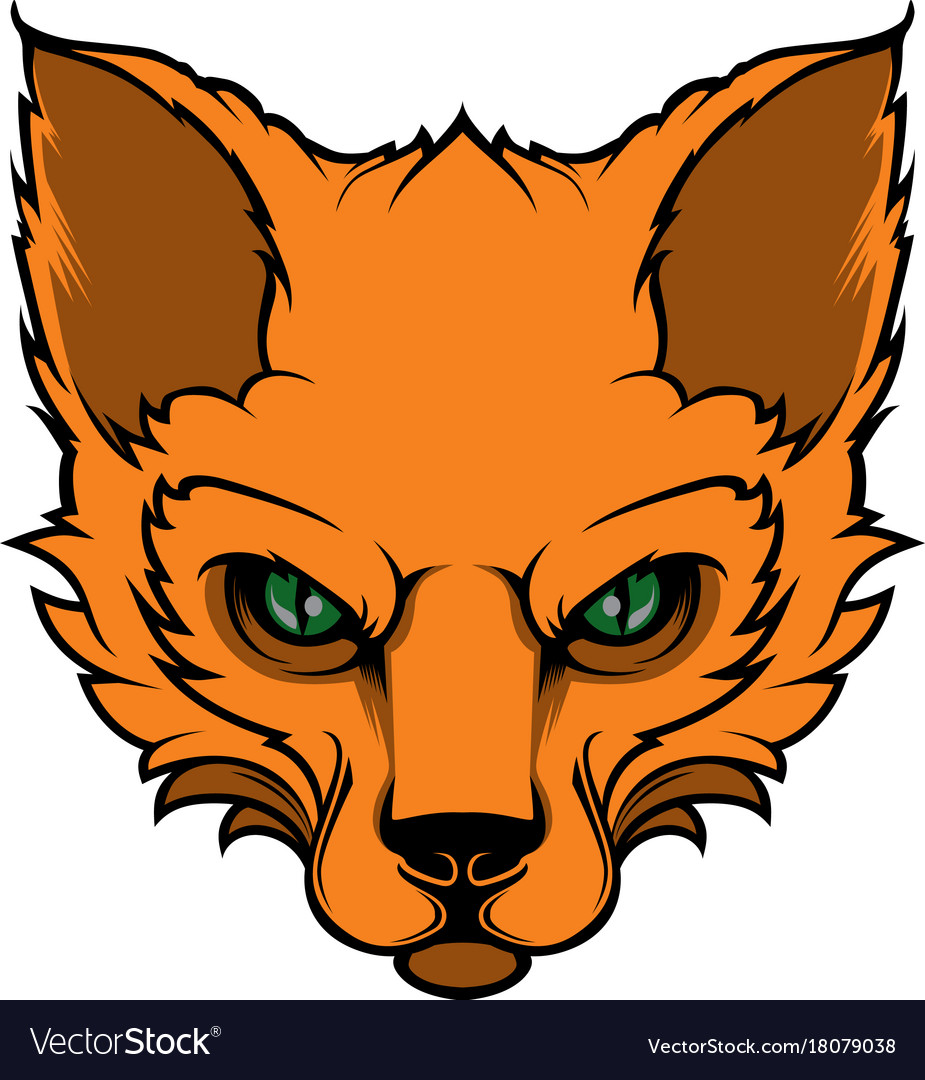 Fox mascot for a sport team
