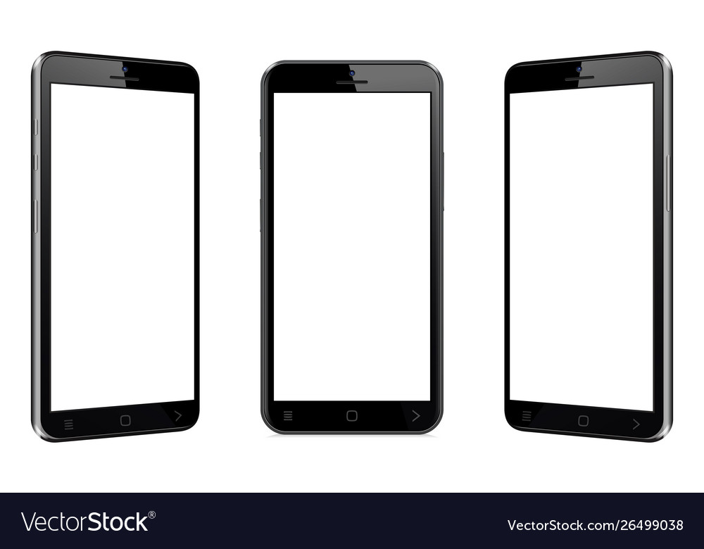 Mobile phone with different views