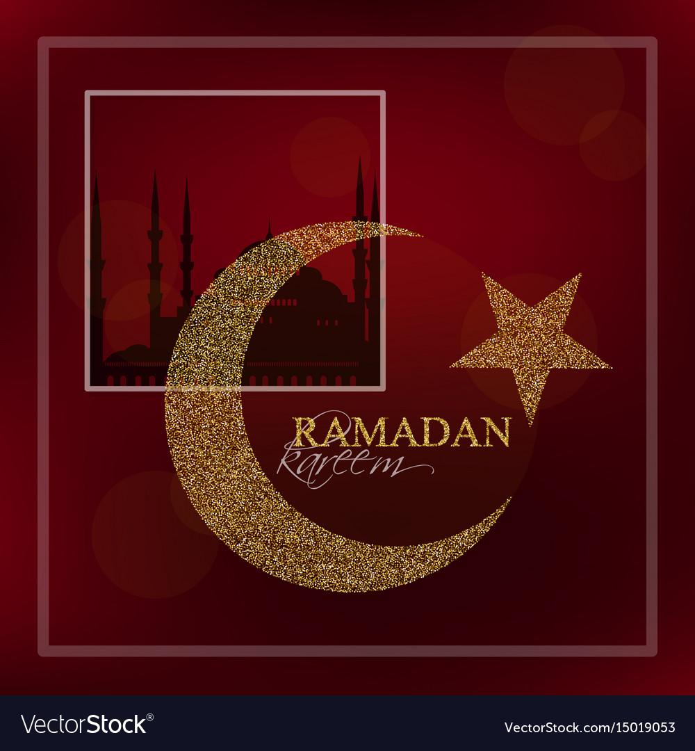 Ramadan kareem design background