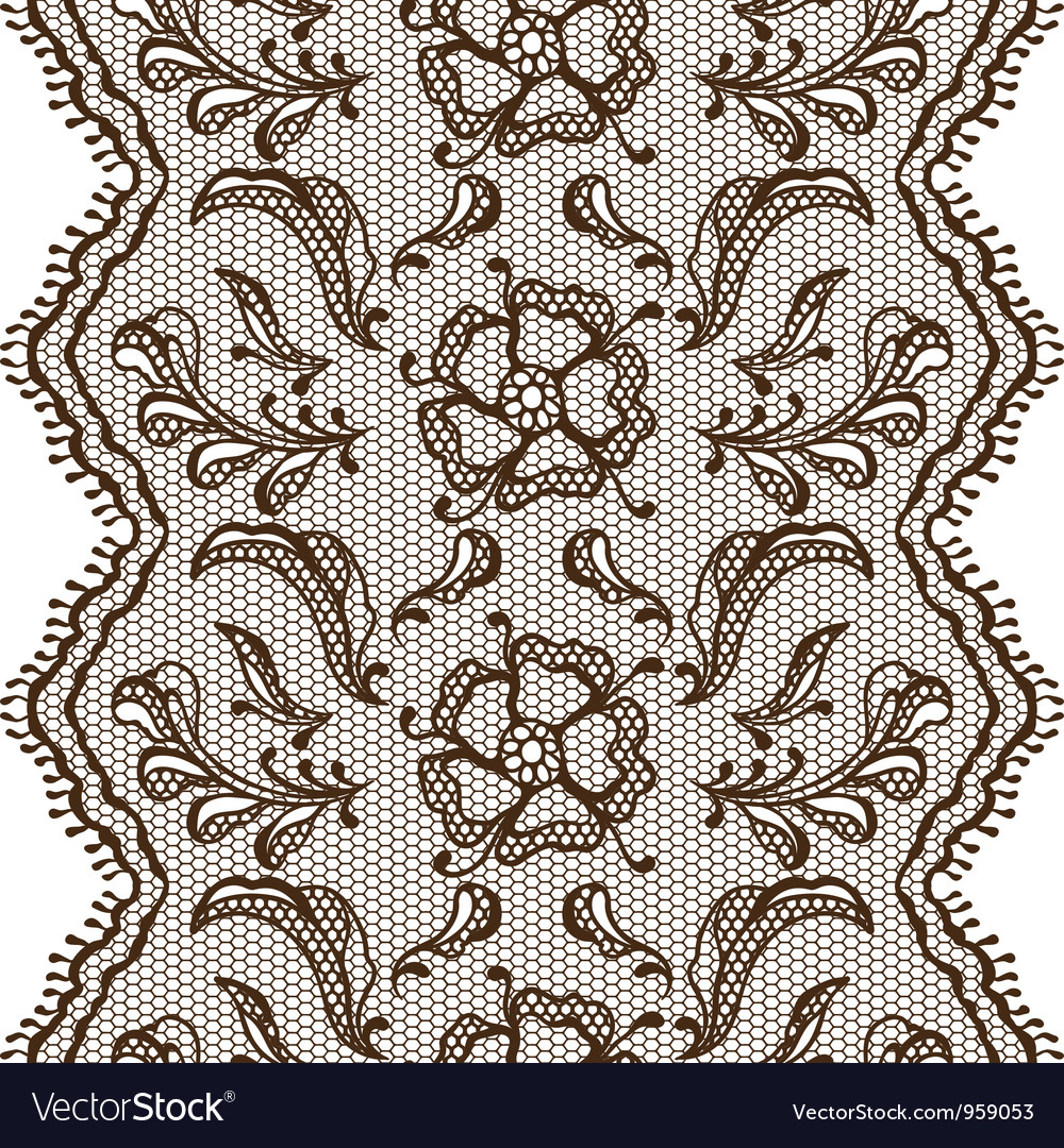 Vintage lace background ornamental flowers texture