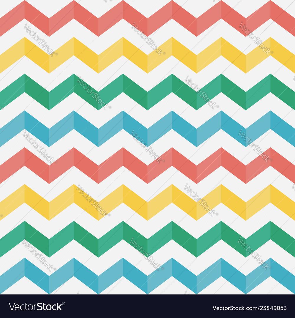 Zigzag seamless pattern chevron