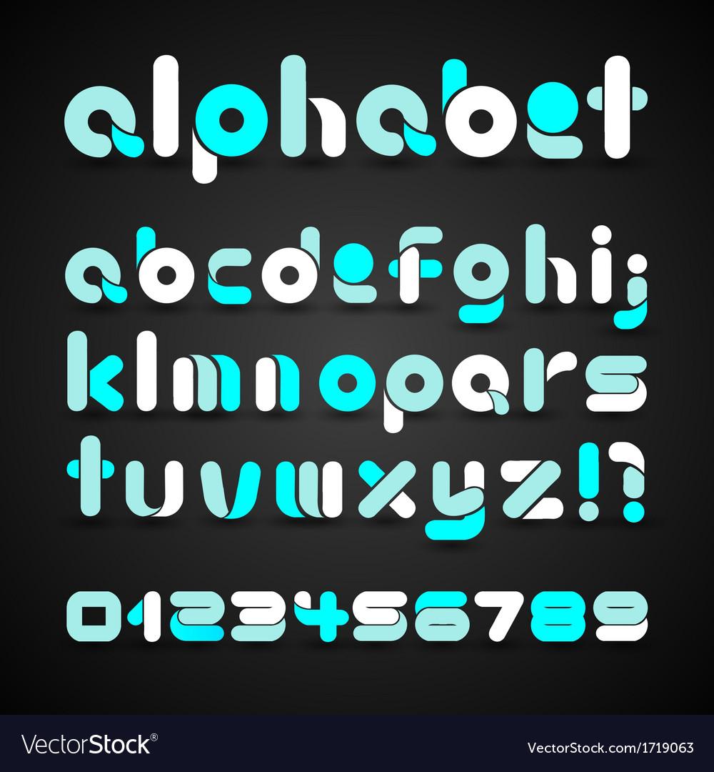 Colorful Decorative Alphabet