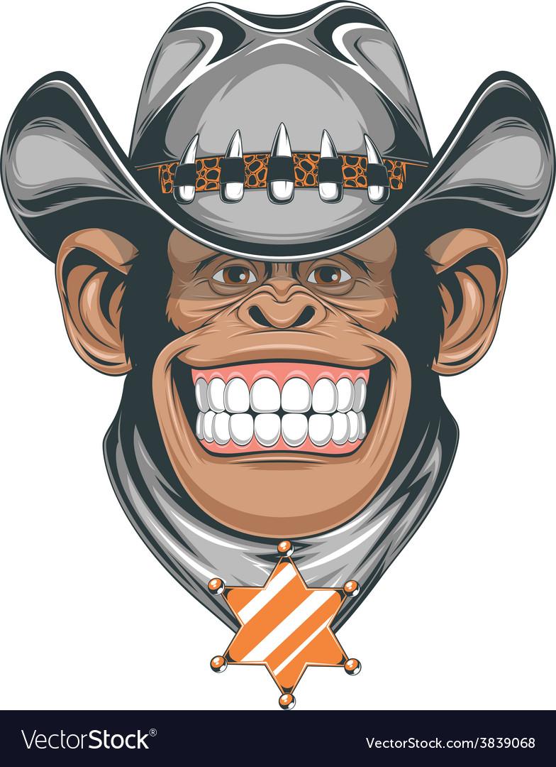 Funny monkey