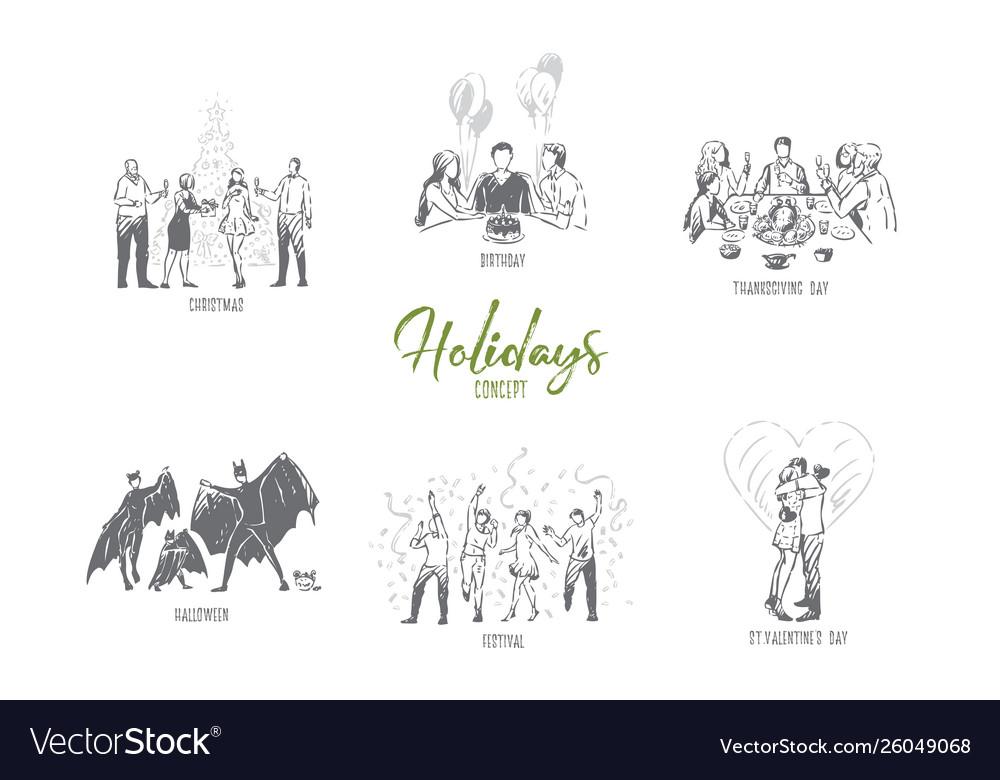 Holidays christmas birthday thanksgiving