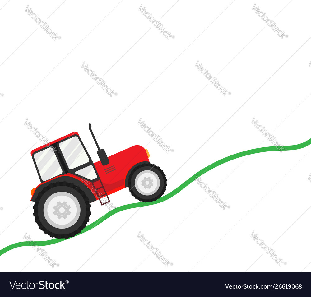 Trial tractor